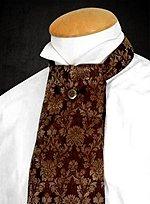 Ascot-Krawatte braun
