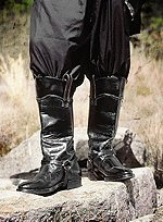 Western Stiefel mit Sporenriemen