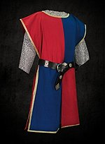 Surcoat Blue & Red