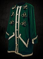Green & Gold Dress Coat