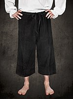 Calf-Length Trousers black