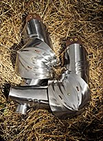 Gothic Plate Armor Arms
