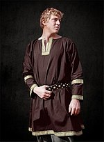 Brown Tunic with Trim