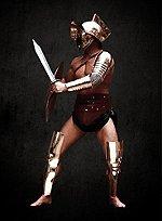 Beinschienen Thraex Gladiator