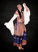 Medieval Dancer Outfit