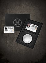 Original S.H.I.E.L.D. Nick Fury ID Set