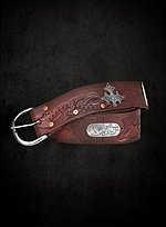 Robin Hood Belt wide brown