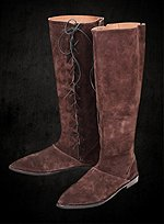 Robin Hood Leather Boots
