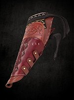 Robin Hood Leather Bracer brown