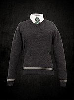 Harry Potter Slytherin Schuluniform Pullover