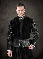 Velveteen and Leather Doublet Henry VIII