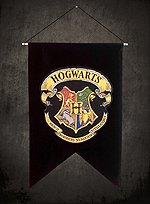 Harry Potter Banner Hogwarts