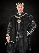 Henry VIII Velveteen Coat The Tudors
