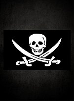 Calico Jack Piratenflagge
