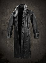 Marvel Iron Man 2 Nick Fury Leather Coat