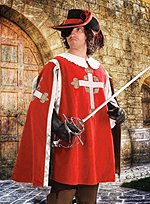 Musketeer Surcoat red