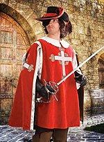 Musketeer Surcoat red