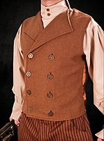 Steampunk Vest brown