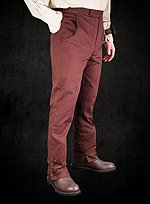 Steampunk Cotton Trousers brown