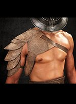 Spartacus Leather Shoulder Guard