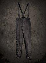 Black British Empire Military Trousers