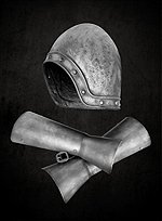 French Taunter Helmet & Vambraces