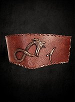 Crixus Leather Belt