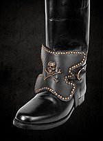 Jolly Roger Boot Decoration