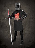 Monty Python Der schwarze Ritter Tunika