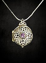 Celtic Keepsake Locket