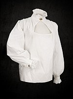 Steampunk Blouse White