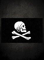 Henry Every Jolly Roger Flagge
