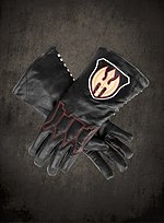 Hessian Leather Gloves